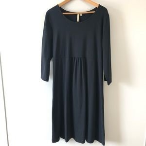 JJILL Purejill Black Jersey Dress Large